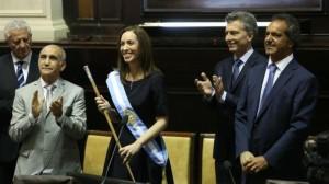 """Asumió Vidal y aseguró que """"recibimos una Provincia quebrada»"""