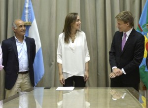 """Fosatti, hombre de Vidal en Arba, habló de """"recaudar con transparencia"""""""
