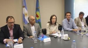 En tierras peronistas, Vidal negoció con Katopodis por el presupuesto