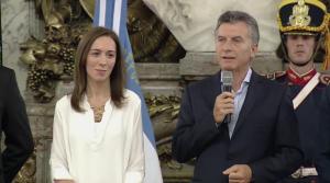 Macri y Vidal anunciaron obras para la ruta nacional 5