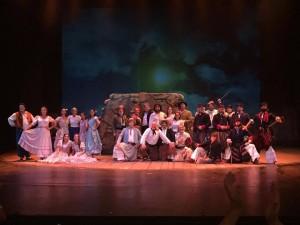 Brillante reestreno de Juan Moreira, en el Teatro Cervantes