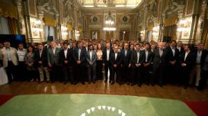 Macri desembarcó en una reunión de gabinete de Vidal
