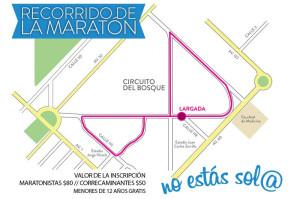 Se corre en el Bosque la 5ta. Maratón Sor María Ludovica