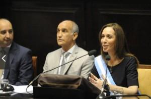 Vidal adelantó que en la Legislatura dará un discurso que girará en torno a la seguridad