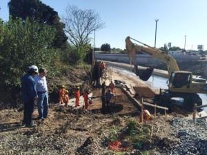 Arteaga: falta terminar 70% de las obras contra inundaciones
