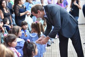 """Garro: """"La educación es uno de los pilares más importantes de la Ciudad"""""""