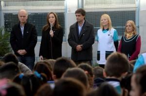 Vidal anunció un 72% más para el presupuesto de las asignaciones familiares