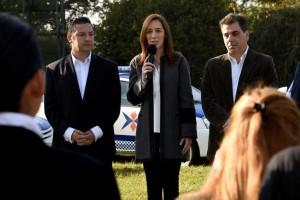 """Vidal apela a la policía para """"que los vecinos sientan que hay un cambio"""""""