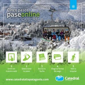 Catedral Alta Patagonia lanza nueva plataforma de venta online