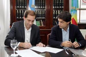 Garro acordó con la Provincia facilitar trámites del Municipio en el Registro de la Propiedad