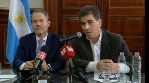 Ritondo y Ferrari dieron detalles de la detención de López