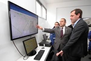Garro inauguró un centro de comando para combatir la inseguridad