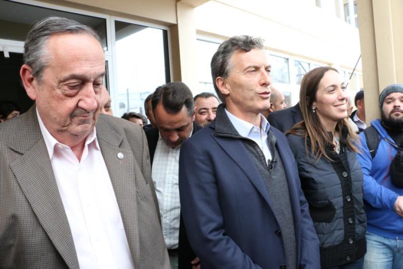 Lungi, Macri y Vidal