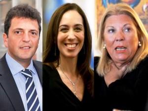 Massa, Vidal y Carrió, en el podio de los políticos con mejor imagen
