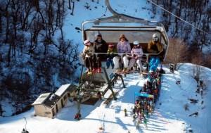 Llegó la nieve y los centros de esquí abrieronlaspistas