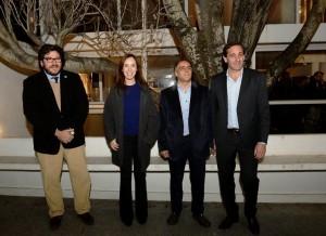 Casa Curutchet: satisfacción de Vidal, Salvador, Garro y Avelluto