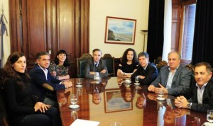 Delegación del PJ platense, de rosca con Pichetto en el Congreso