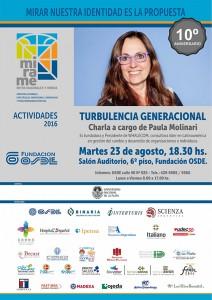 Paula Molinari y una charla sobre los cambios que imponen los jóvenes en el mundo laboral