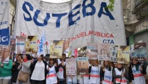 """Desde Suteba sostienen que la posición de la Provincia es """"totalmente ilegal"""""""