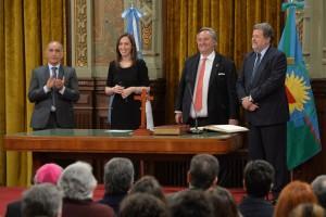 """Vidal sumó a De la Torre y aseguró que """"hoy se fortalece Cambiemos"""""""