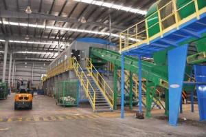 Presentaron las obras de la nueva planta de tratamiento de residuos