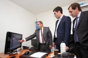 La seguridad en La Plata, eje del encuentro entre Garro y Mosca