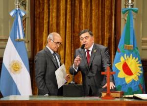 Presentaron a López Mesa como nuevo asesor General del Gobierno