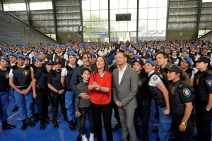 Vidal se mostró con Insaurralde en medio del debate por el Presupuesto