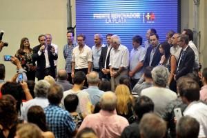 """El massismo platense apela a la """"unión"""" de cara a las elecciones de 2017"""