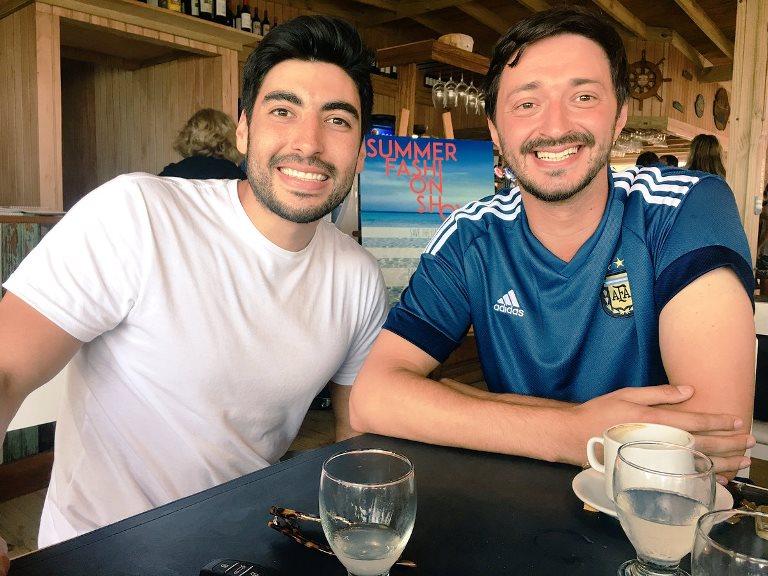 Facunco Moyano y Martín Yeza