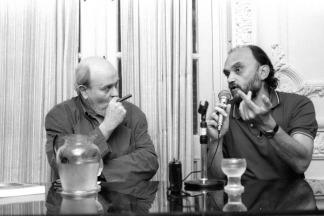 Osvaldo Soriano y Roberto Fontanarrosa