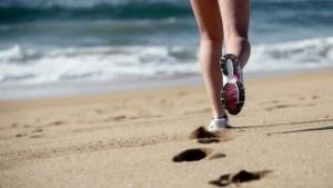 El running se muda a la playa
