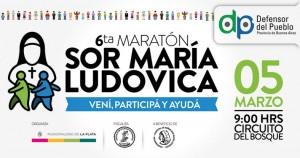 Abrió la inscripción para la 6ta maratón Sor María Ludovica