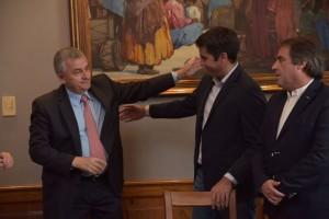 Mosca fue a Jujuy a firmar un acuerdo con Morales