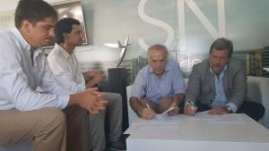 A espaldas del acto de la CGT, arrancó Expoagro en San Nicolás