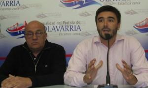 Jorge Larreche y Ezequiel Galli