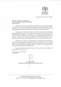 Lorenzino carta a Baradel