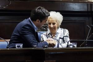 """Estela de Carlotto abrió la """"Semana de la Memoria"""" en Diputados"""