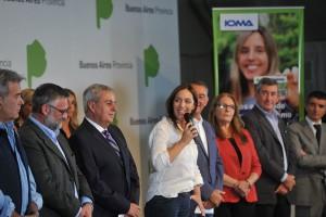 Vidal anunció mejoras en la prestación del IOMA