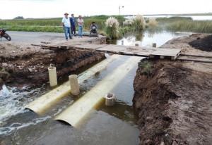 Por las inundaciones, Buenos Aires y La Pampa se miran con mala cara