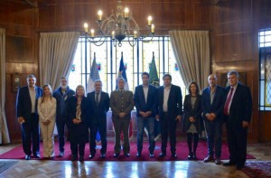 Diputados estuvieron en Chile para analizar políticas de seguridad