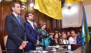 Garro hizo un repaso de su gestión en la apertura de las sesiones del Concejo
