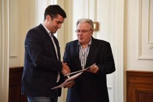 La Cámara de Diputados firmó su primer acuerdo con la UBA