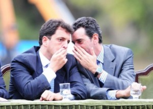 Massa y Randazzo ensayan la primera estrategia electoral