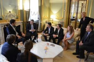 Diputados se reunieron con Ramón Puerta en Madrid