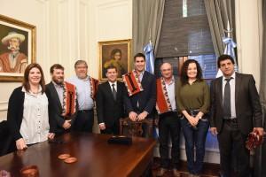 Diputados bonaerenses se reunieron con el gobernador de La Rioja