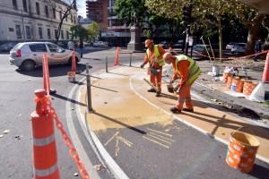 El Municipio avanza con obras de reacondicionamiento en las diagonales