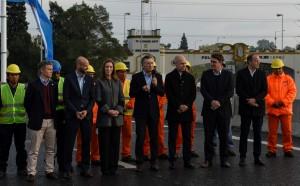 Después de las declaraciones de Cristina, Macri y Vidal se mostraron juntos