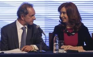 """Scioli destacó a Cristina al asegurar que representa """"lo mejor de las políticas peronistas"""""""