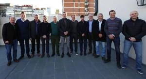 """Randazzo reunió a """"11 leales"""", sueña que se baja CFK y otra vez Scioli"""